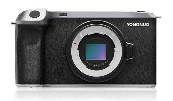 Беззеркальная камера Yongnuo YN455 системы Micro Four Thirds работает под управлением ОС Android 10