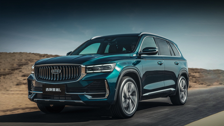 Большой кроссовер с двигателем Volvo, тремя дисплеями и автоматической системой парковки дешевле $23 000: Geely Xingyue L уже появился в Китае