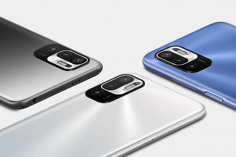 Представлен смартфон Redmi Note 10T 5G
