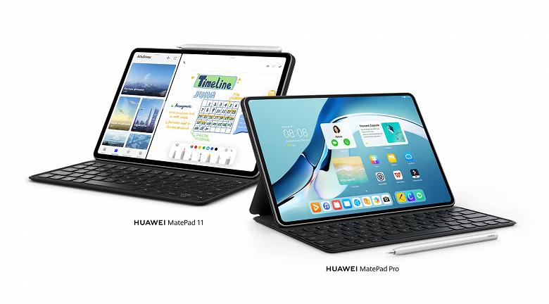 Huawei MatePad и MatePad Pro на основе HarmonyOS доступны для заказа в России: подарки и скидки до 34 тысяч рублей