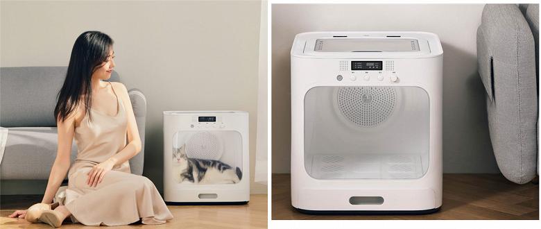 Представлена сушильная машина Xiaomi для домашних животных