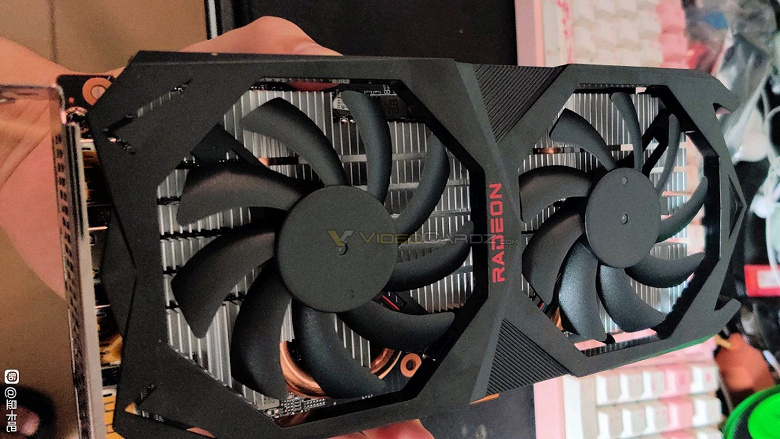 The Radeon RX 6600 XT was shown in live photos.  In the test, it performed on a par with the GeForce RTX 3070 Ti