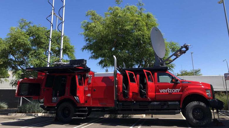 Представлен THOR — грузовик с дроном для 5G и спутниковой связи в экстренных ситуациях