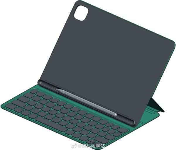 Поддержку стилуса и дизайн Xiaomi Mi Pad 5 подтвердили первые изображения чехла-клавиатуры