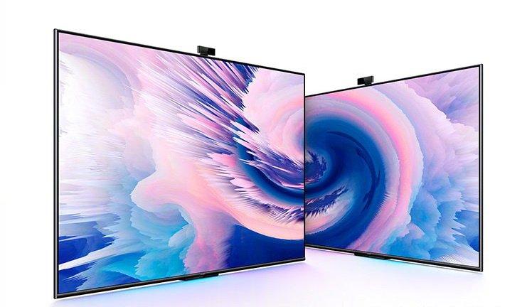 Современный 4К-телевизор диагональю 55 дюймов с веб-камерой за 465 долларов. Huawei готовит две новые модели умных ТВ