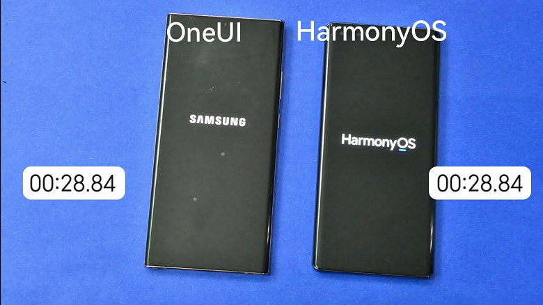 Samsung vs. Huawei: One UI 3.1 vs. HarmonyOS 2.0 compared in terms of download speed