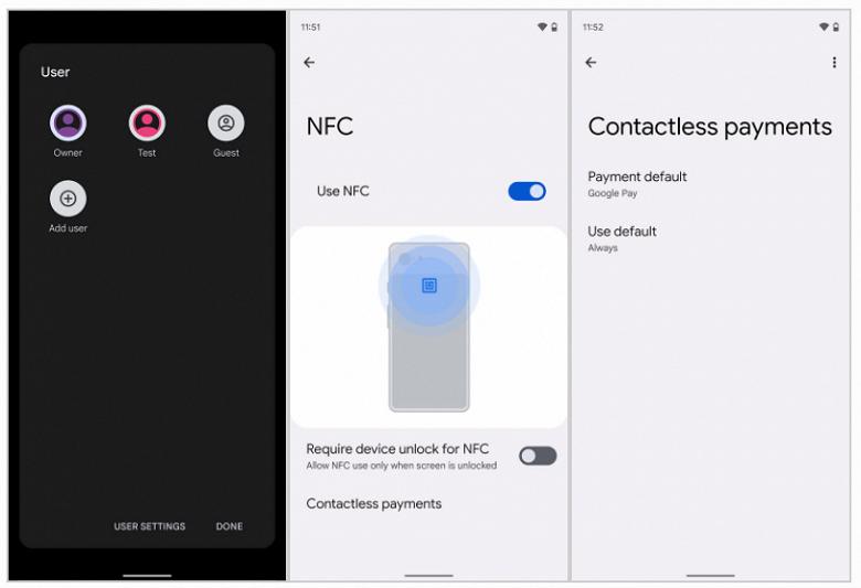 Раскрыт новый секрет Android 13 Tiramisu — платежи NFC станут доступны для нескольких пользователей
