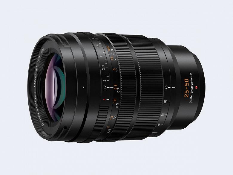 Panasonic Leica DG Vario-Summilux 25-50mm / F1.7 ASPH lens presented.  (H-X2550)