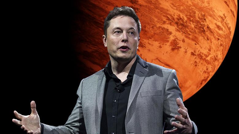 Илон Маск сообщил, когда будет построен город на Марсе и сколько двигателей SpaceX Raptor для этого понадобится