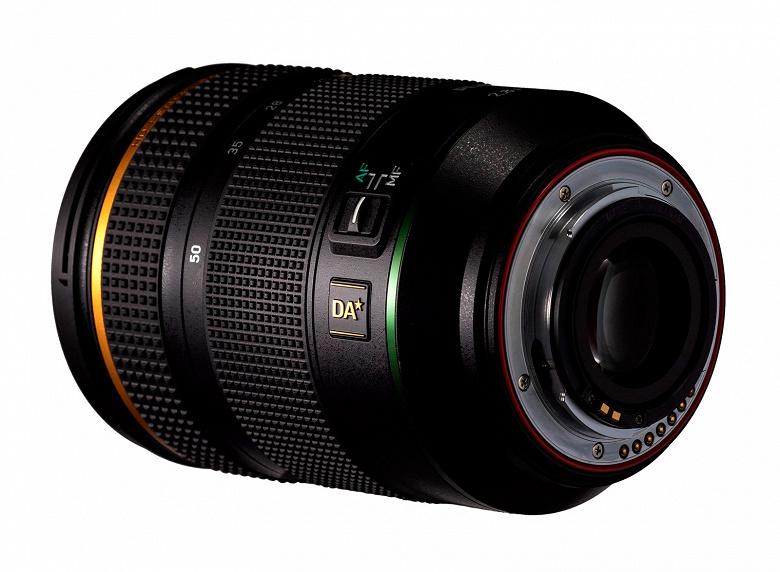 Представлен объектив HD Pentax-DA*16-50mmF2.8ED PLM AW