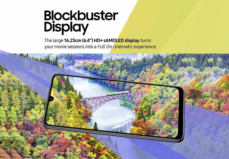 Представлен недорогой смартфон Samsung Galaxy F22 с экраном Super AMOLED и аккумулятором на 6000 мА•ч