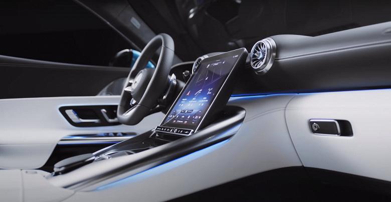 Представлен первый в мире автомобиль с наклоняемым экраном