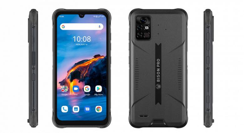 Прочный недорогой смартфон с ИК-термометром и FM-радио Umidigi Bison Pro поступил в продажу