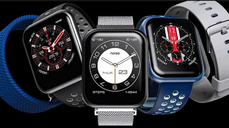 1,75 дюйма, SpO2, IP68, 90 спортивных режимов, недорого. Представлены умные часы Noise Colorfit Ultra