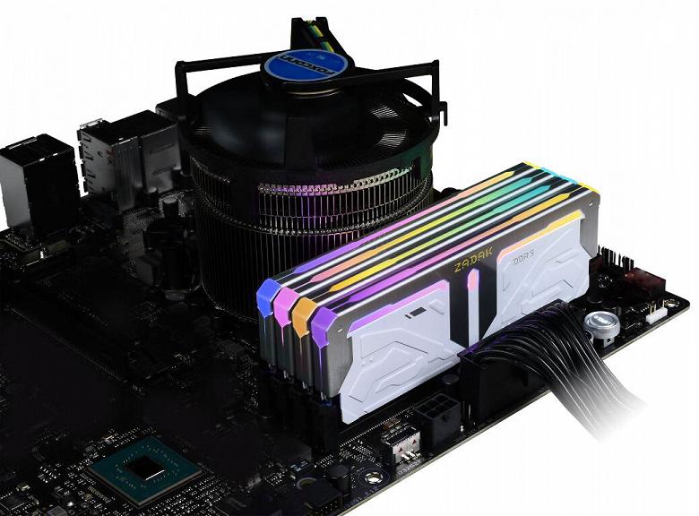 Представлены модули памяти Zadak Spark DDR5