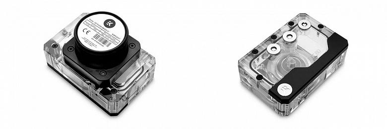 Агрегаты EK-Quantum Kinetic FLT 80 предназначены для систем жидкостного охлаждения для малогабаритных ПК