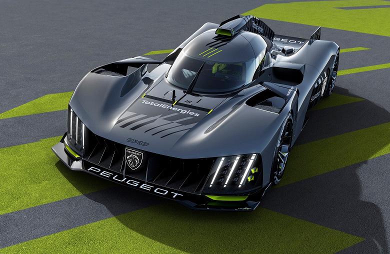 Представлен гибрид Peugeot с 680-сильным бензиновым двигателем и 272-сильным электромотором