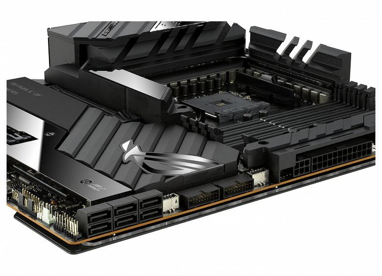 Системная плата Asus ROG Crosshair VIII Extreme рассчитана на процессоры AMD в исполнении AM4