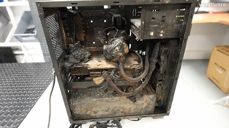 Дом сгорел, компьютер сгорел, а видеокарта – нет. GeForce RTX 2070 Super демонстрирует чудеса живучести