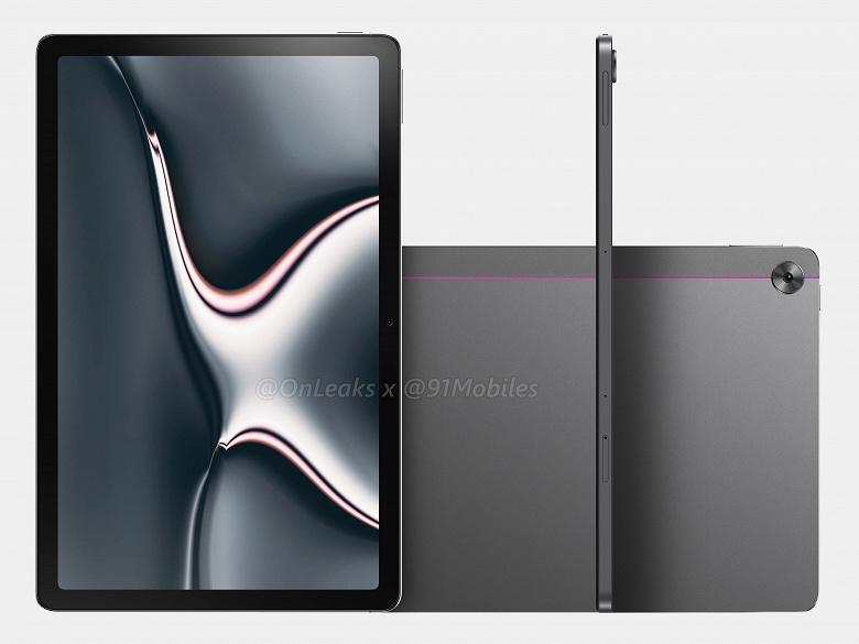 Так выглядит конкурент Xiaomi Mi Pad 5. Первый планшет Realme показали на качественных рендерах