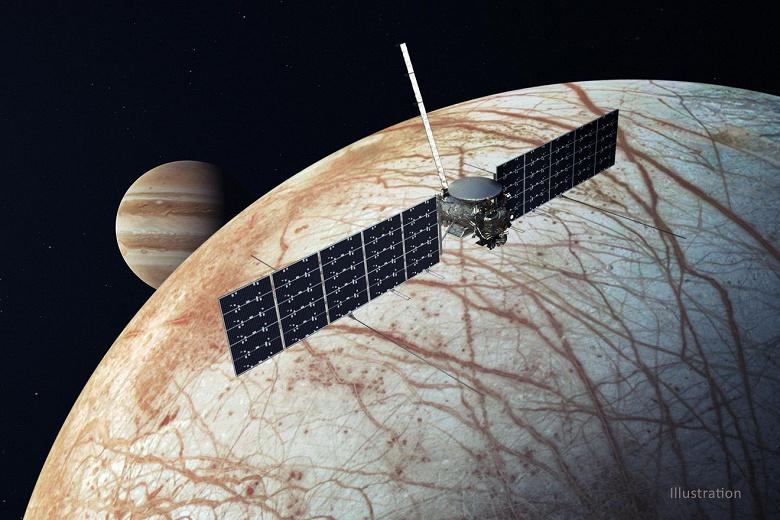 Контракт на запуск зонда Europa Clipper к спутнику Юпитера достался SpaceX