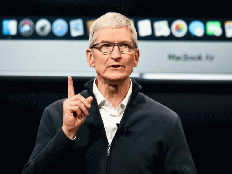 Тим Кук отметил своё 10-летие на посту лидера Apple, продав миллионы акций компании