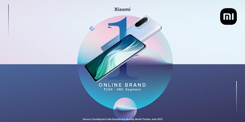 Смартфоны Xiaomi являются самыми популярными в ценовом сегменте от 270 до 600 долларов на крупнейшем в мире рынке