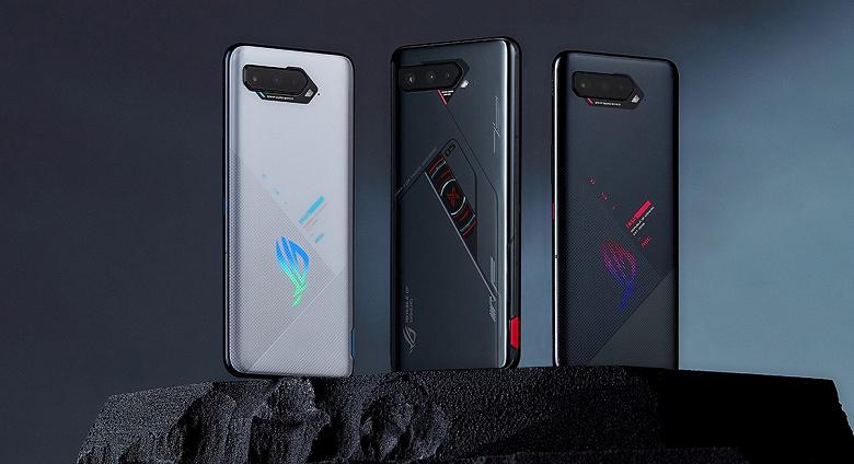 Snapdragon 888+, два экрана, 18/512 ГБ и 6000 мА•ч. Представлен смартфон Asus ROG 5s Pro