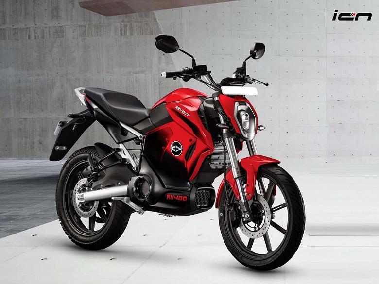 Представлен быстрый электрический мотоцикл Revolt RV1