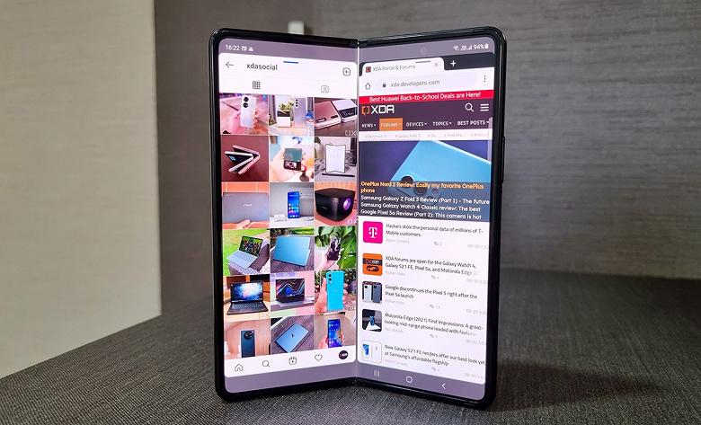 У Samsung получились самые настоящие бестселлеры: Galaxy Z Flip3 и Z Fold3 всего за 10 дней превзошли продажи всех складных устройств Samsung за 2021 год