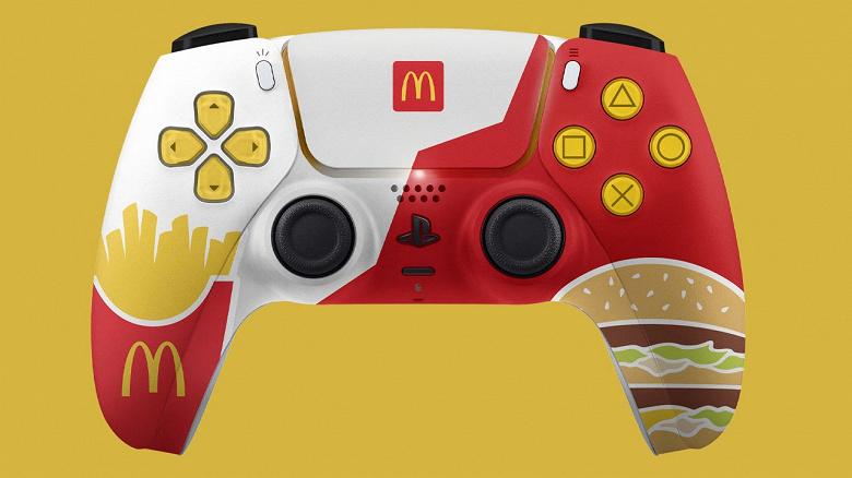 Sony запретила раздачу «фастфудных» контролеров McDonald's для PlayStation 5