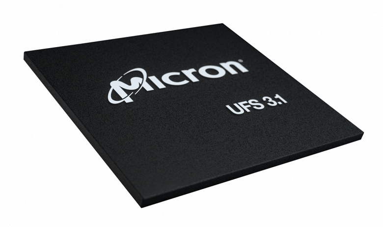 Micron начинает поставки первых модулей UFS 3.1, в которых используется 176-слойная флеш-память 3D NAND