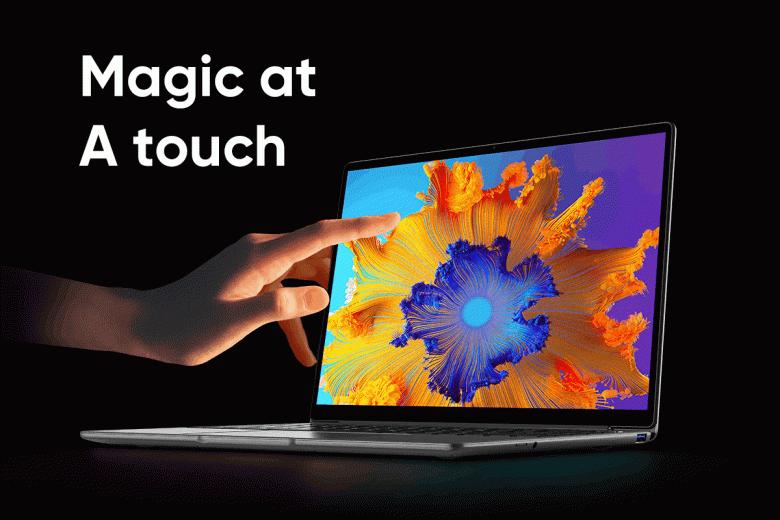 Бесшумный ноутбук с 14-дюймовым сенсорным экраном, 100-процентным охватом sRGB и клавиатурой с подсветкой. Представлен Chuwi LarkBook X