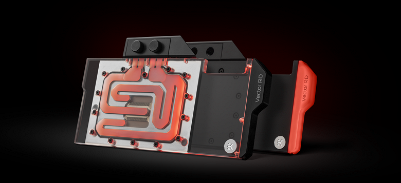 EK-Quantum Vector Red Devil waterblock is designed for PowerColor Red Devil AMD Radeon RX 6800, RX 6800 XT and 6900 XT video cards