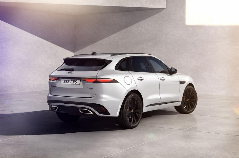 Эксклюзивная версия нового Jaguar F-Pace появится в России