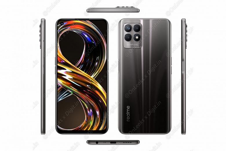 Первый смартфон на базе Helio G96: качественные изображения и характеристики Realme 8i
