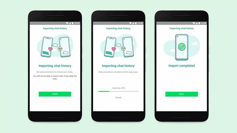 Официально: перенос чатов WhatsApp наконец-то становится возможен между Android и iPhone