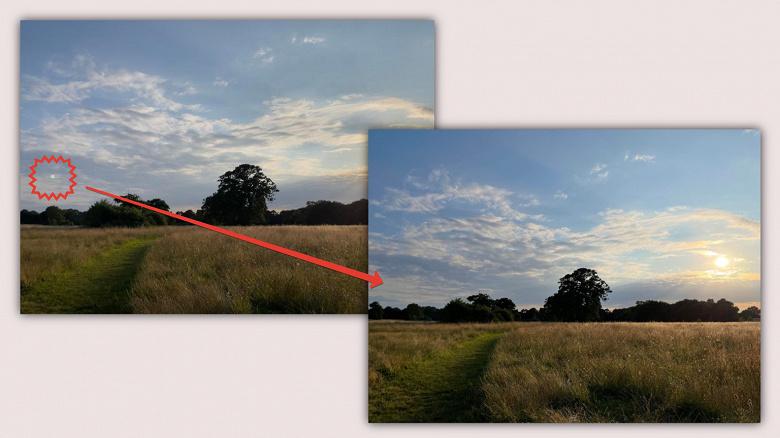 Осенью iPhone начнут лучше снимать. iOS 15 автоматически удаляет блики объектива с фото