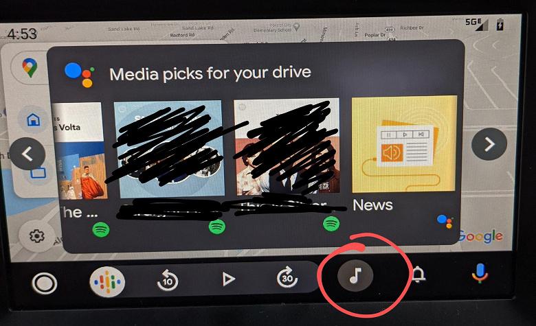 Android Auto начала подсказывать водителям музыку, новости и подкасты