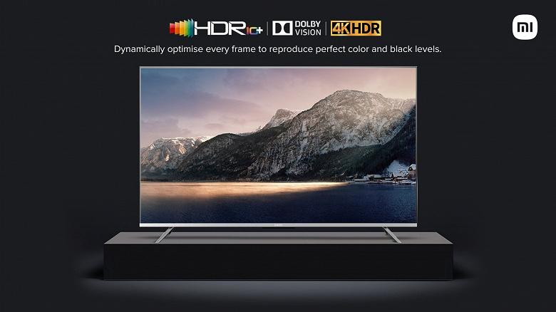 Представлены доступные 4K-телевизоры Xiaomi Mi TV 5X с поддержкой Dolby Vision, HDR10+, Dolby Atmos и DTS-HD