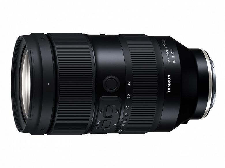 Tamron анонсирует выпуск первого зум-объектива с максимальной диафрагмой f/2, предназначенного для полнокадровых беззеркальных камер
