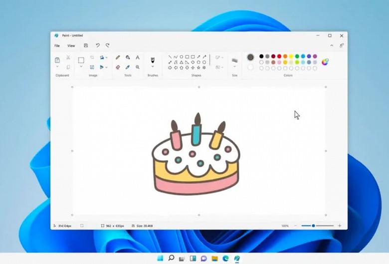 Microsoft показал обновленный Paint для Windows 11. С более удобными панелями и темной темой оформления