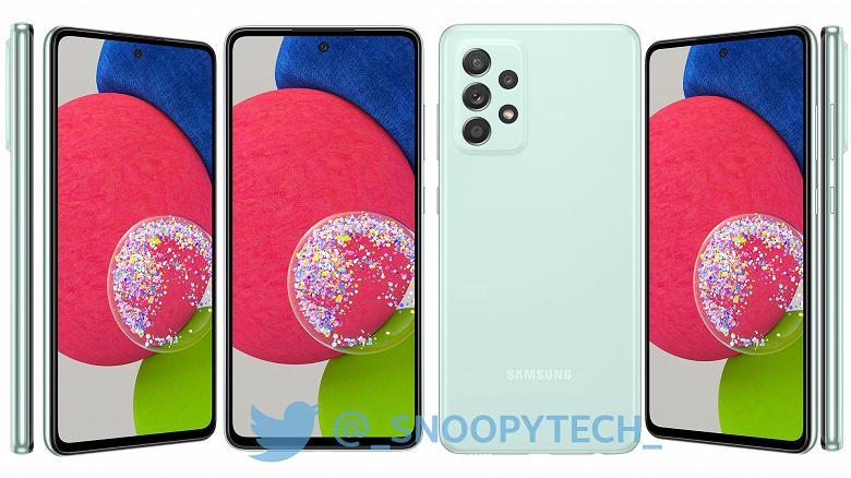 Самый мощный среднебюджетный смартфон Samsung — Galaxy A52s — будет отличаться от предшественника только платформой