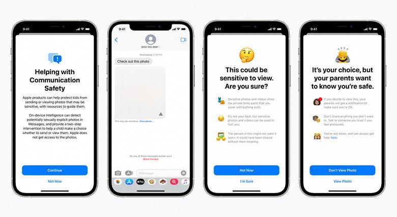 «Очень плохая идея», официально: Apple объявила о поиске запрещённых фото на iPhone и iPad