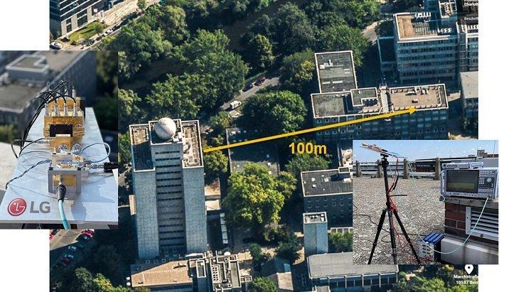 LG впервые успешно передала данные по сети 6G в терагерцевом спектре