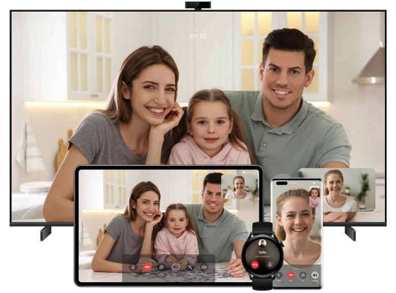 Обновление HarmonyOS 2.0 приносит новые функции для умных экранов Huawei Vision S в России