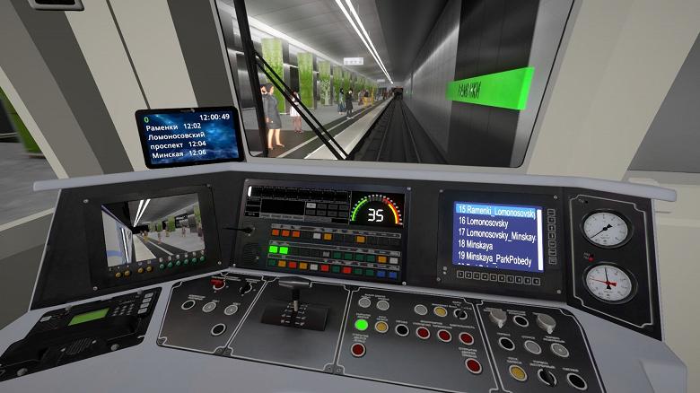 Почувствуй себя машинистом Московского Метро: в Steam выпустили Metro Simulator