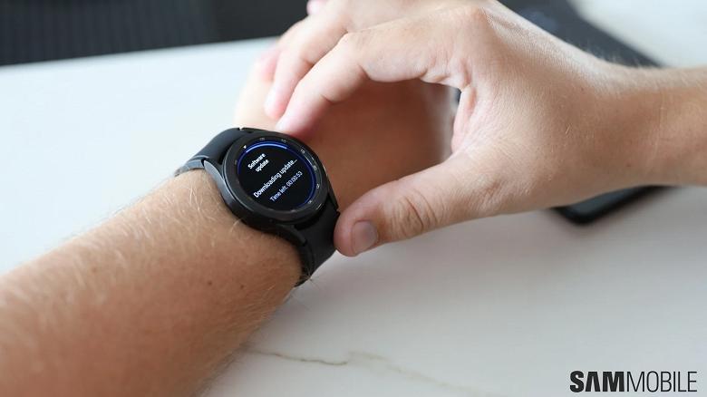Первое обновление Samsung Galaxy Watch4 доступно и ждёт пользователей