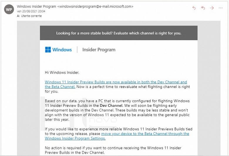 Microsoft предупредила разработчиков о нестабильности Windows 11
