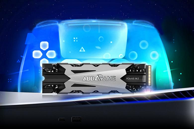 Твердотельный накопитель AddGame A95 адресован пользователям PlayStation 5